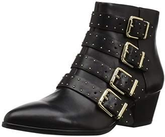 The Fix Women's Hazel 4-Buckle Strap Ankle Boot
