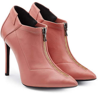 Roland Mouret Leather Ankle Boots