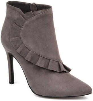 Journee Collection Womens Cress Stiletto Heel Zip Booties