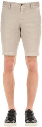 Lardini Cotton & Linen Shorts