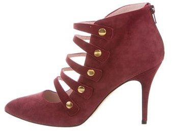 Kate Spade New York Suede Pointed-Toe Booties