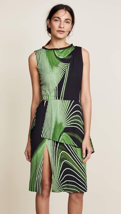Roberto Cavalli Knitted Tiered Dress