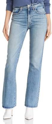 Mother Desperado High-Rise Bootcut Jeans in Secret Sister
