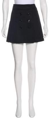 Burberry Pleated Mini Skirt w/ Tags