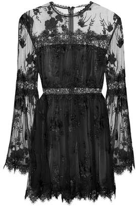 Zimmermann Tropicale Antique silk playsuit