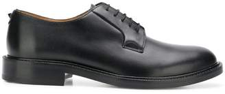 Valentino round toe Derby shoes
