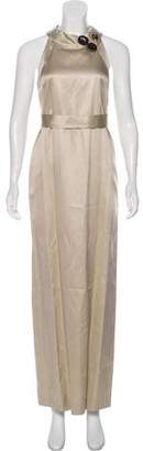 Emilio Pucci Satin Evening Dress