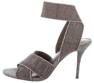 Tibi Tweed High Heel Sandals