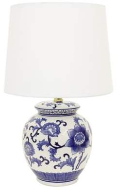 Bed Bath & Beyond Jimco Ceramic Table Lamp in Blue/White
