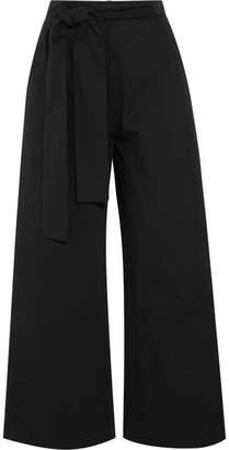 Saloni Elma Cotton-blend Culottes - Black