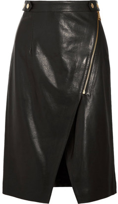 Vanessa Bruno - Habby Leather Skirt - Black