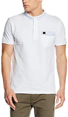 Voi Jeans Men's Port Striped Short Sleeve Polo Shirt