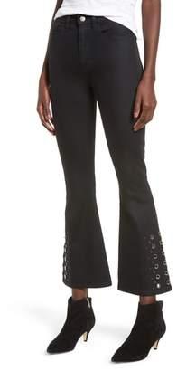 Hudson Holly High Waist Crop Flare Jeans