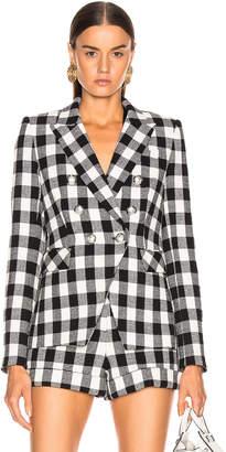 Veronica Beard Miller Dickey Jacket in Black & White | FWRD