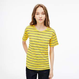 Lacoste Women's Cotton And Linen T-Shirt