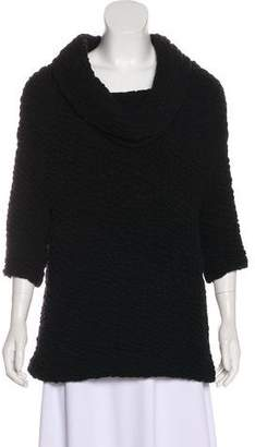 Yigal Azrouel Wool Cloqué Top w/ Tags