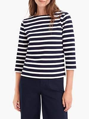 J.Crew Structured Stripe T-Shirt