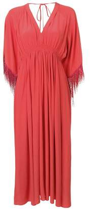 Forte Forte empire line fringe hem dress