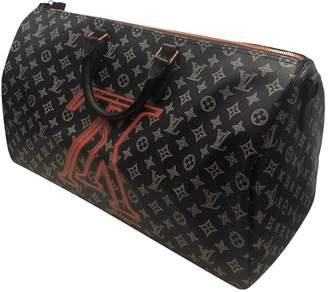 Louis Vuitton Keepall Blue Other Bag