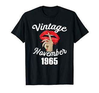 Vintage Born November 1965 53rd Birthday Gift 53 This Lady