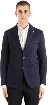 Tagliatore Cotton Gabardine Jacket