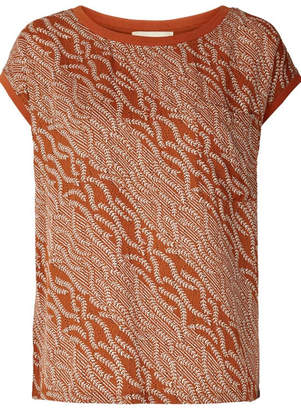 Laundry by Shelli Segal LOLLYS Rust Colored Top