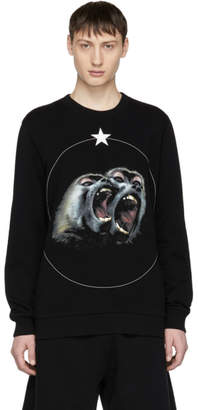 Givenchy Black Monkey Brothers Sweatshirt