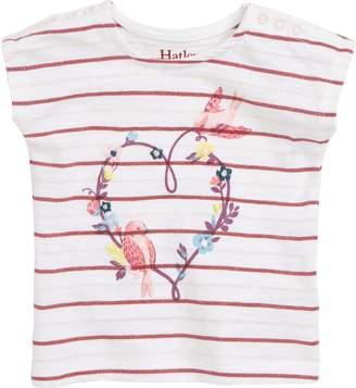 Hatley Lovey Birds Stripe T-Shirt