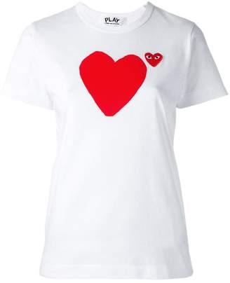 Comme des Garcons 'heart' print T-shirt