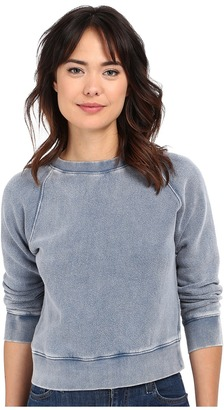 Free People Vintage Crop Pullover $68 thestylecure.com