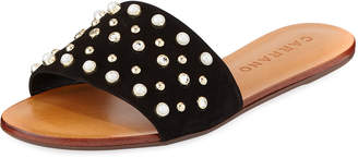Carrano Ella Flat Studded Sandal