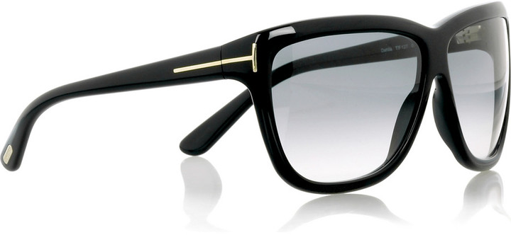Tom Ford Dahlia oversized sunglasses
