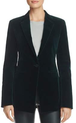 Theory Tailored Velvet Blazer