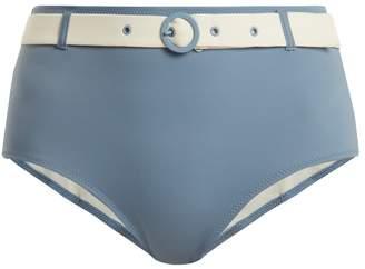 Solid & Striped The Quinn waist-belt bikini briefs