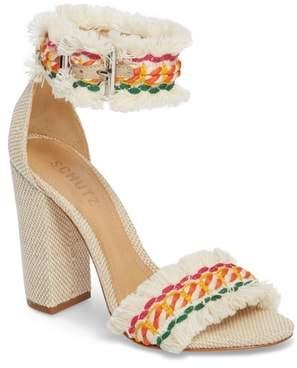 Schutz Zoola Block Heel Sandal