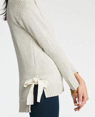 Ann Taylor Petite Side Tie Sweater