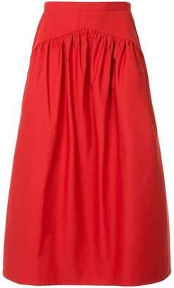 Atlantique Ascoli flared skirt