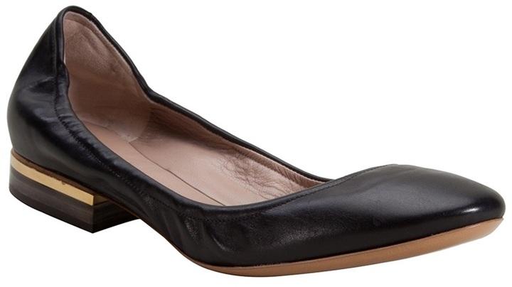 Chloé stacked heel ballet flat