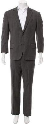 Etro Striped Wool Suit