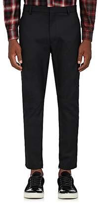 Lanvin Men's Biker Wool Flat-Front Trousers