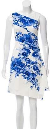 Lela Rose Floral Sheath Dress