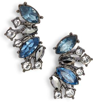 Givenchy Crystal Cluster Ear Crawlers