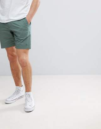 Original Penguin P55 Slim Fit Chino Shorts in Green