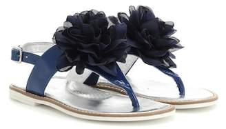 MonnaLisa Patent leather sandals
