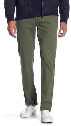 "Original Penguin Slim 5 Pocket Dark Rinse Twill Stretch Pants - 32\"" Inseam"