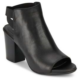 Kari On Open Toe Booties $89 thestylecure.com