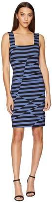 Nicole Miller Lace-Up Dress Women's Dress