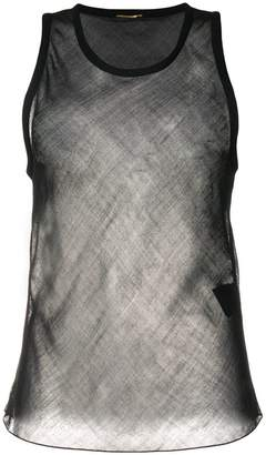 Saint Laurent sheer tank top