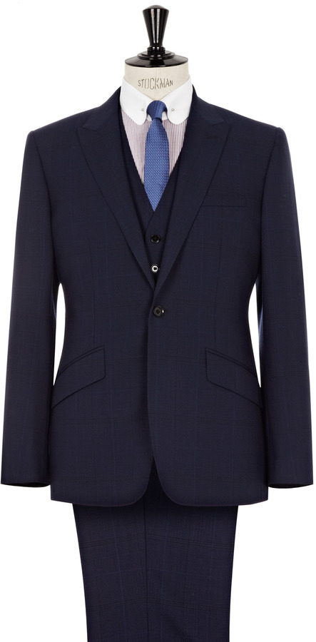 Reiss Naples THREE PIECE TWO BUTTON SUIT