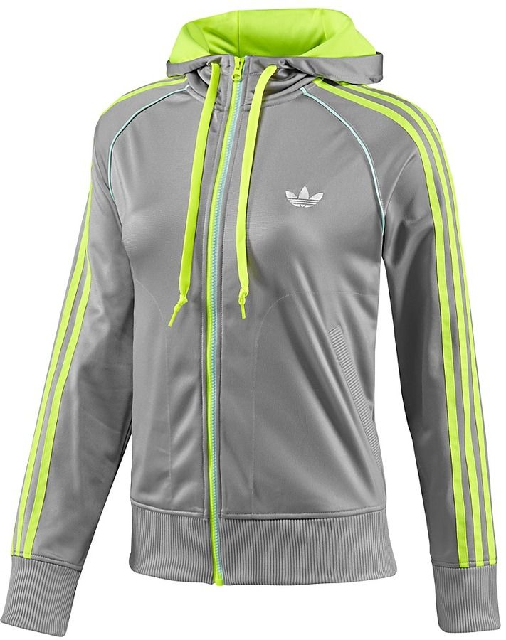 adidas Girly Zip Track Top